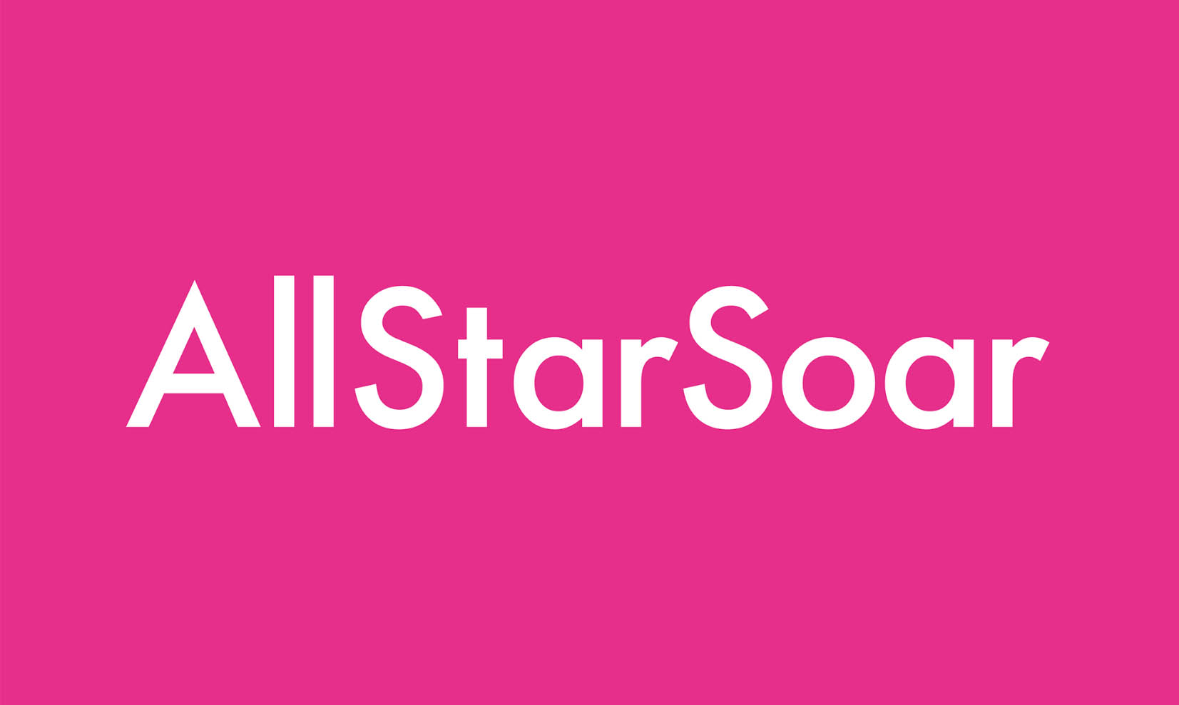 Visual identity for All Star Soar promoting brands in sports and lifestyle