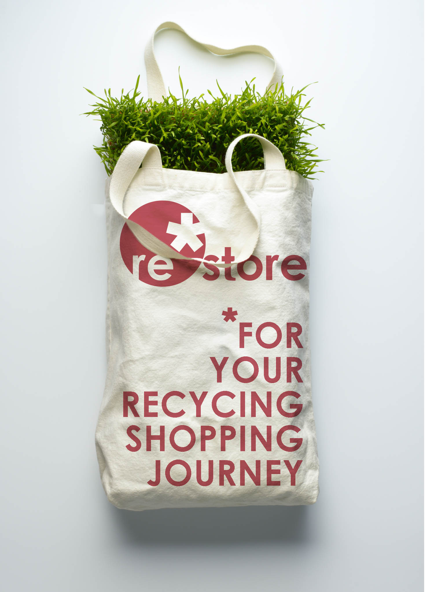 Brand launch and teaser campaign for Restore