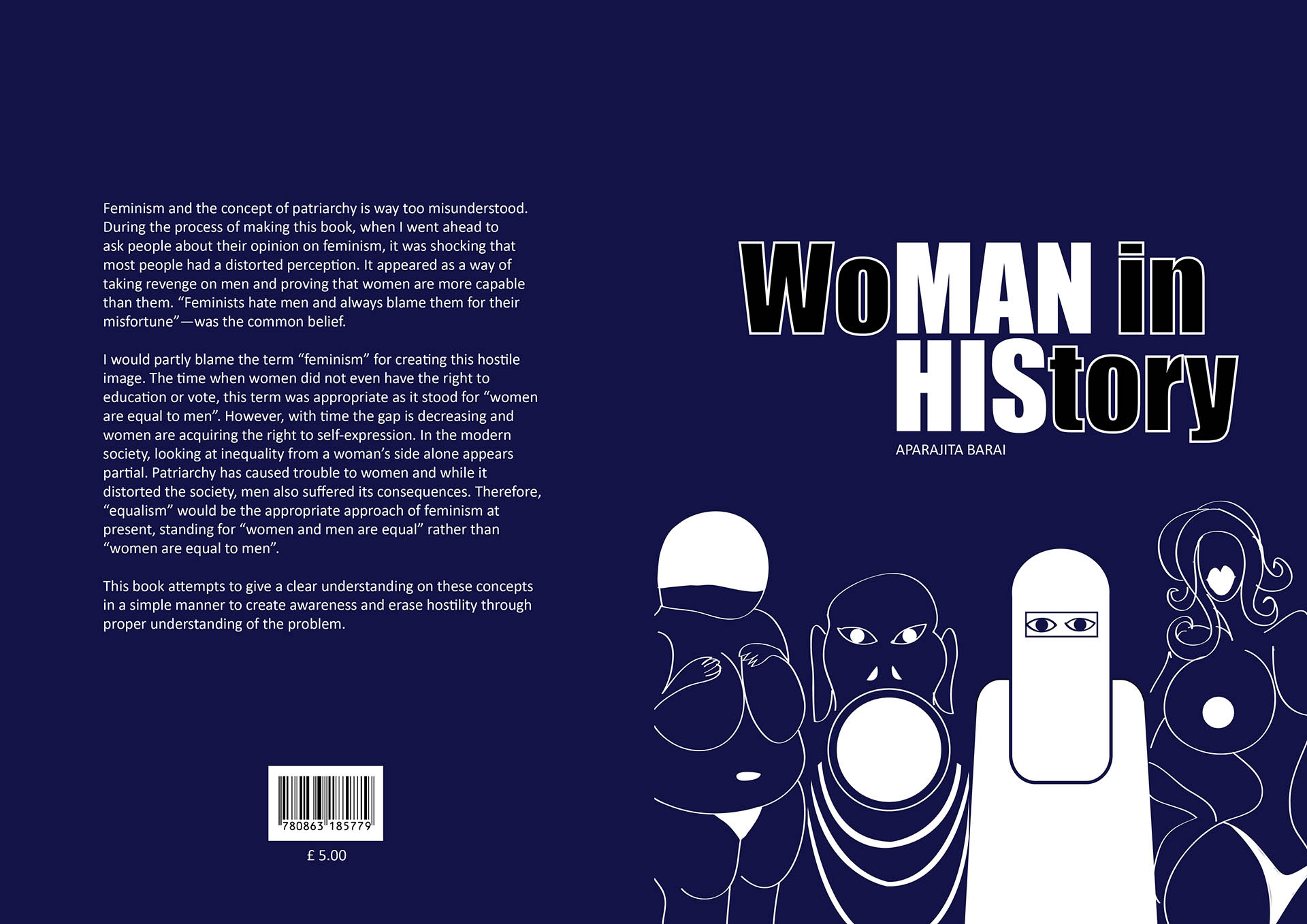 Book cover for Woman in history