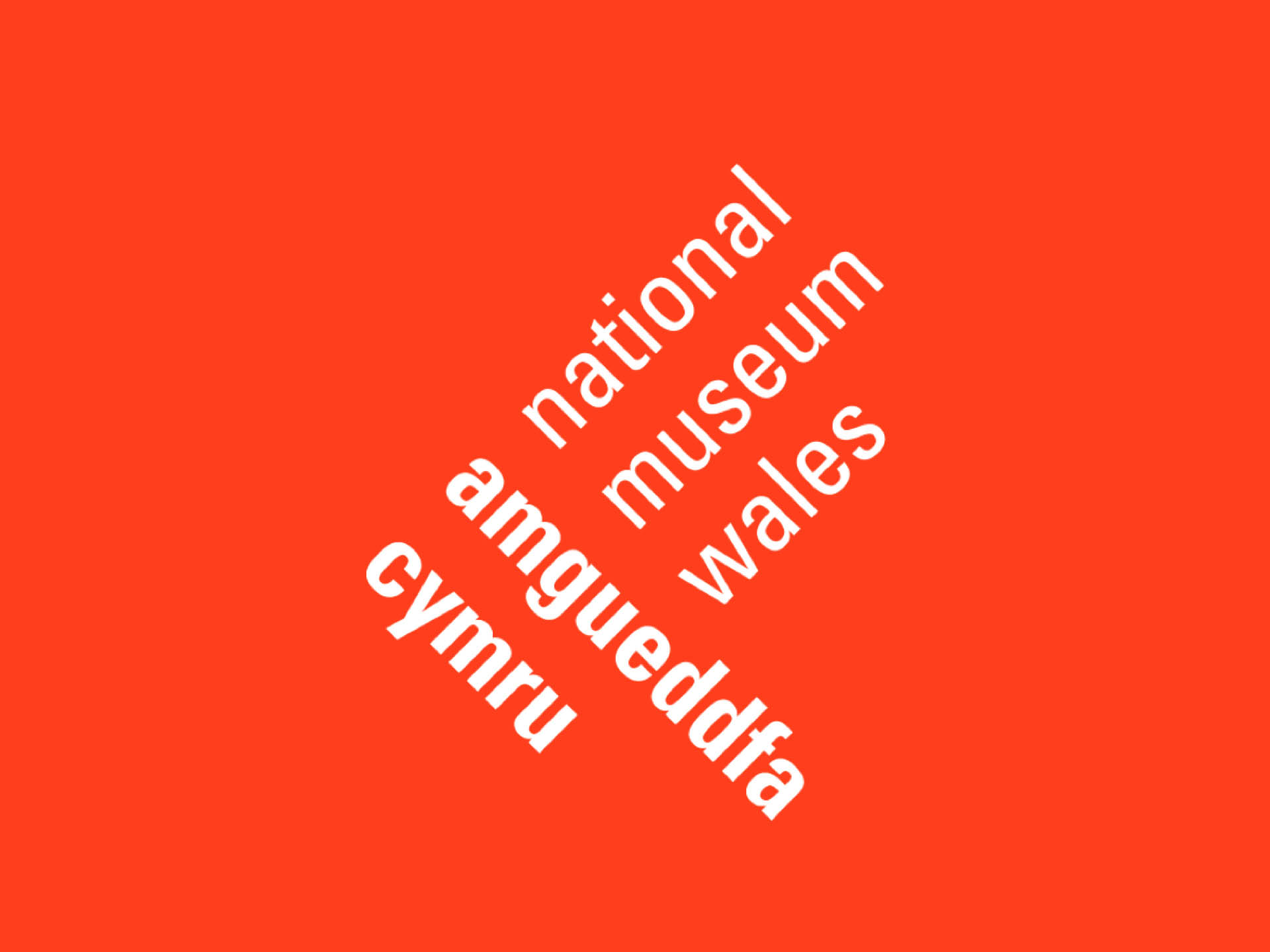 Visual identity for the National Museum Wales
